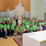 Foto della Santa Messa con l'Arcivescovo Mario Delpini