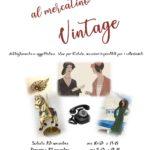Mercatino Vintage – 23 e 24 novembre 2019