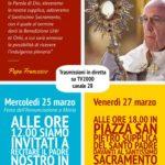 Momenti di Preghiera 25 e 27 marzo 2020